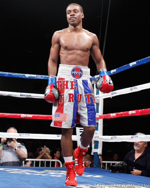 2012 Showtime Boxing: Errol Spence Jr vs Jonathan Garcia - November 10, 2012